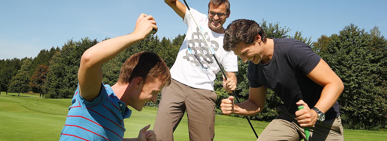 Golffreunde kennenlernen